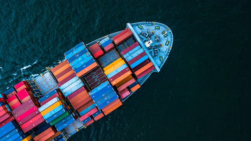 an image of a freight ship